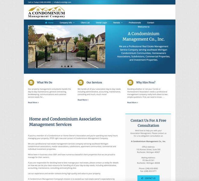 condo-association-websites