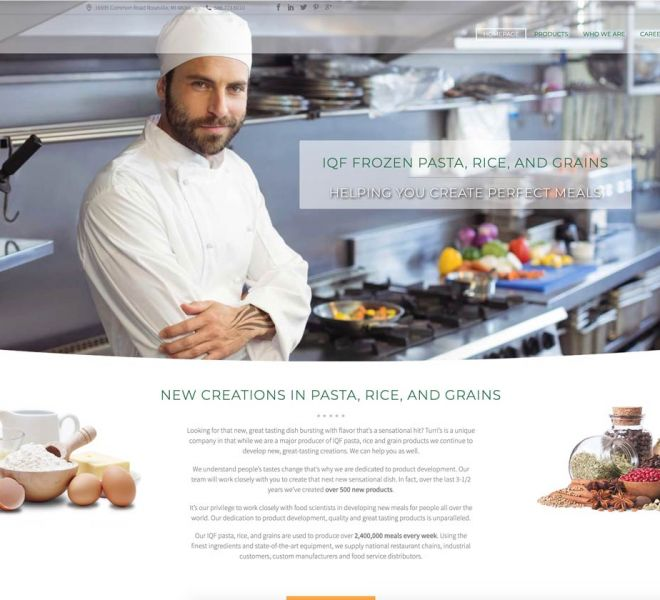 industrial-food-service-website